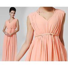 Women's Belted V-Neck Bandeau Plus Size Dress – GBP £ 14.59