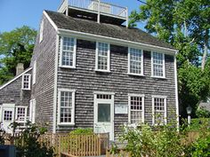 Mitchell House - the best untouched example of a Nantucket Quaker style home.