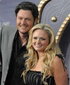 quote:  Blake Shelton & Miranda Lambert...Country Music's New Royalty!