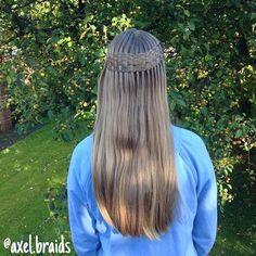 Waterfall twists and woven sections inspired by @myhairstyle_xo . ❤️. #braid #braids #cute #pretty #hair #hairstyle #hairstyles #hairgoals #hairposts #cghphotofeature #cutegirlshairstyles #featuremejehat #ab_feature #braidsforlittlegirls #braidsforgirls #sweetheartshairdesign #instibraid #inspirationalbraids #beyondtheponytail #braidgoals #braidsinaction #hotd #cutehairstyles #waterfalltwist #longhair #braidgoals #hairgoals #braidinspiration #hairinspiration #teenhairstyles