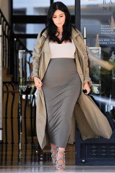 See Kim Kardashian's best maternity looks: