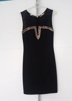 Kup mój przedmiot na #vintedpl http://www.vinted.pl/damska-odziez/krotkie-sukienki/18092306-nowa-sukienka-mala-czarna-rs-piekne-zdobienia-i-koronka