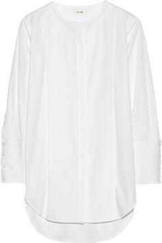 ADAM LIPPES Cotton-Poplin Tunic. #adamlippes #cloth #tunic
