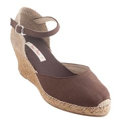 Toni Pons - Caldes . bought these in Mallorca and love them . so pretty and comfortable .