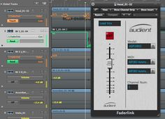 Faderlink   Audient Link, Desktop Screenshot