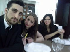 il mio staff PERSONALE Carlo Nardone e due angeli  Le due modelle ed attrici Francesca di Bello e Federica Artiano