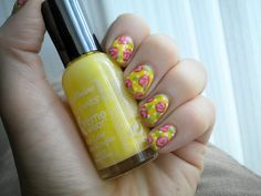 Taupe is the New Black: NOTD Mar 5/12    rosebuds are cute with polka dots