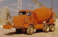 Heavy Duty Trucks, Big Rig Trucks, Heavy Truck, Cool Trucks, Semi Trucks, Cement Mixer Truck, Concrete Mixers, Peterbilt Trucks, Diesel Trucks