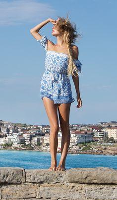 Shooting for Naomilevifashion Bondi Beach, Sydney with Hannah Bondi Beach, Sydney Australia, The Selection, Cover Up, Rompers, Fashion, Moda, Fashion Styles, Romper Clothing