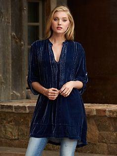 brynn velvet tunic - fall collection - best sellers - women - Categories - Gorsuch