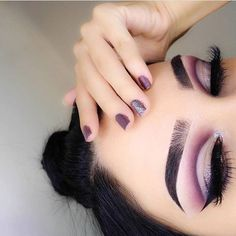 Pink Cut Crease #makeup #Cutcrease