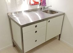 146cm Sideboard Dresser Base Free Standing Kitchen
