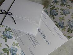 Marie Papiers  |  Convites Exclusivos: Convite Hortência