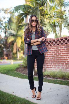 song-of-style-tartan-blazer-skinny-jeans-4
