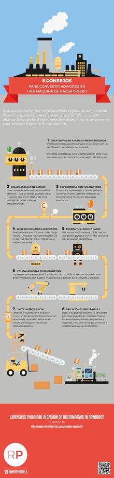 8 consejos para convertir #AdWords en una máquina de hacer #dinero http://about.me/rubendelaosa @rubendelaosa