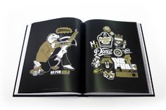 123KLAN ARTBOOK,  published by Label 619. Hard cover, 304 pages from the best of 123klan, including:  graffiti pieces, handmade logos, character design, posters,  toy design, streetwear and much more... Each copy comes with a double sticker spread in black and gold  and signed by the founders: Scien & Klor  Available online now for 70$ (shipping not included) www.123klan.com/shop