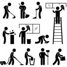 Find Man People Cleaning Washing Wiping Sweeping stock images in HD and millions of other royalty-free stock photos, illustrations and vectors in the Shutterstock collection. Vintage Logo Design, Graphic Design, Paint Vector, Man Icon, Stick Figures, Stock Foto, Free Vector Art, Photos, Pictures