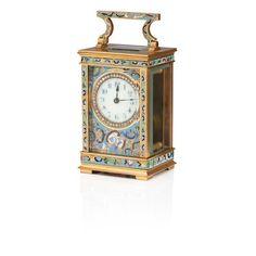 A late 19th century brass and cloisonné carriage clock  HOME & INTERIORS 15 Nov 2017, 10:00 GMT EDINBURGH