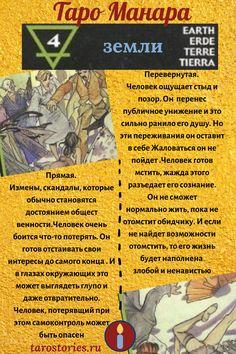 Значение 4 земли из колоды Таро Манара #таро #tarot #manara #колодытаро #тароманара #значениекарттаро #tarostories Tarot, Tarot Cards, Tarot Decks