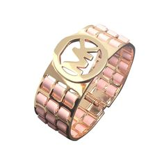 Michael Kors Agate Logo Pink Accessories Outlet