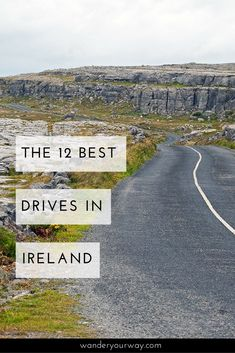 Ireland is made for driving. There are so many wonderful places to drive in this country. But which drives are the best? I've got a list of some of the most scenic drives in Ireland. Click through to find out more!
