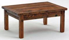Barnwood Farm Base Coffee Table - Item # CT03011 - 17 Standard & 1000 Custom Color Options - Custom Sizes Available
