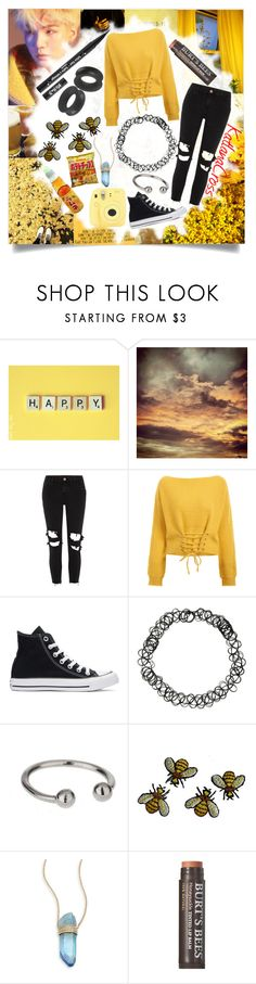 """""Don't stop, don't stop. Don't you stop, don't give up on me now"""" by katlanacross ❤ liked on Polyvore featuring Deborah Lippmann, Retrò, BY SOPHIE, River Island, Converse, Kat Von D, Hot Topic, Miss Selfridge, Fujifilm and Jacquie Aiche"