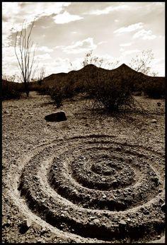 spiral earthwork