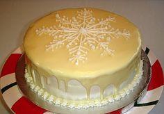 Meyer Lemon Snowflake Cake