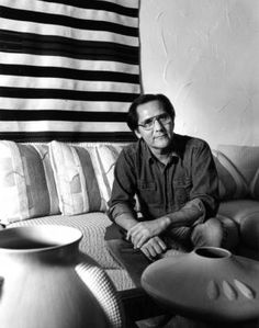Alfred H. Qöyawayma (Hopi potter), ca. 1980. Heard Museum, Phoenix, Arizona [RC62(Q26):2]