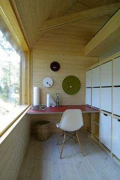 Dömmarskär hytte Arkitekt Anders Adlercreutz=