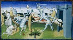 1410 - 1412 BNF Français 2810 Livre des Merveilles Back Buckles, center rear