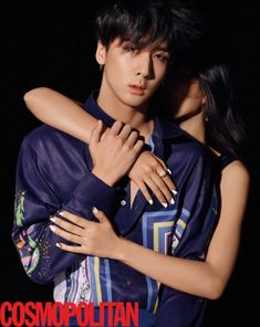 VIXX LR's Ravi and Leo exude charisma for 'Cosmopolitan'