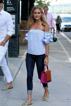 Image result for olivia palermo summer street style