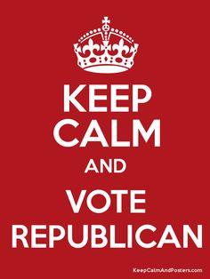 Yup, I'm republican. I'll be able to vote in the next election!