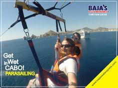 Disfruta de la Vida en Los Cabos! Enjoy life in Los Cabos!  #Bajaswatersports #Watersports #Parasailing #Cabo  www.bajaswatersports.com