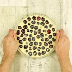 Wer Kirschkuchen mag, wird unseren französischen Clafoutis lieben! #kuchen #backen #rezept #rezepte #kirschen #clafoutis