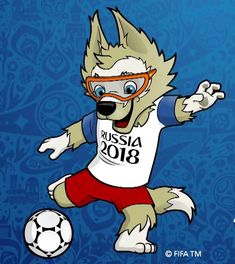 2018 World Cup Mascot Soccer World Cup 2018, World Football, Fifa World Cup, Cartoon Networ, World Cup Tickets, Cup Logo, World Cup Russia 2018, Asian Games, Happy Fathers Day