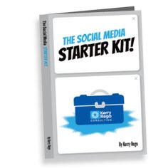 I wrote The Social Media Starter Kit to guide you and your team through the process of setting up a successful social media campaign and to be an ongoing resource for you. You may be a sole proprietor, small business owner, marketer, or large organization. Whether you are from a for-profit, non-profit, educational body, government, or otherwise, I believe anyone can use the information. Available in paperback, in Kindle, and in workbook form. Author Kerry Rego.