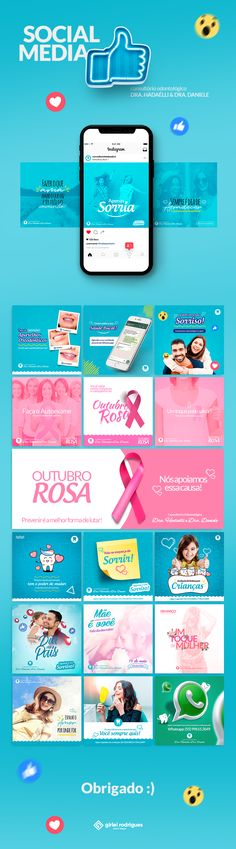 Projeto de Social Media   Consultório Odontológio Dra. Hadaélli & Dra. Daniele