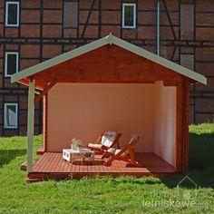 Domek drewniany (Wooden house) Igor II 12 m2