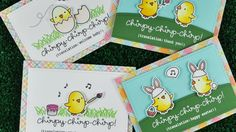 Intro to Chirpy Chirp Chirp + 4 cards from start to finish