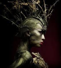 Tree Nymph headpiece