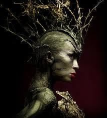 Tree Nymph headpiece