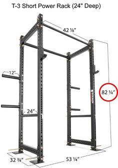 63 Trendy Ideas home gym machine power rack Rack Crossfit, Gym Rack, Crossfit Home Gym, Home Gym Garage, Diy Home Gym, Squat Rack Diy, Diy Pull Up Bar, Homemade Gym Equipment, Home Gym Machine