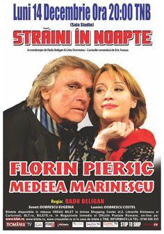 Luni, 14 Decembrie 2015, ora 20:00, Teatrul National, Sala Studio, Bucuresti