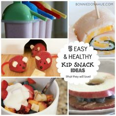 5 EASY & HEALTHY KID SNACK IDEAS (THAT THEY WILL LOVE)