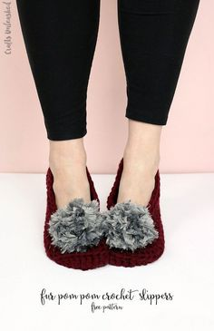 Crochet yourself some simple and cozy slippers. This free crochet slippers pattern makes it easy to keep your toes warm in style this winter.