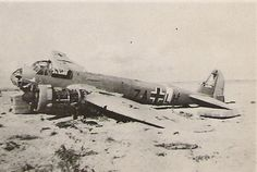 THIS JUNKER 88 STOPPED FLYING in 1942 in NORTH AFRICA