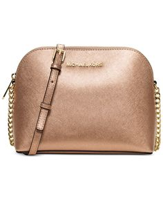 MICHAEL Michael Kors Cindy Large Dome Crossbody - Handbags \u0026amp; Accessories - Macy\u0026#39;s